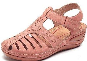 Kadınlar İçin YEELOCA 2020 Yeni Dilimleri Ayakkabı Yaz Sandalet Gladyatör Casual Platformu Sandalet VC021 A001
