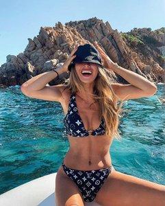 SS20 nueva llegada de calidad superior del traje de baño de la medusa verano de la playa de baño bikini para las mujeres atractivas del tamaño S-XL 994