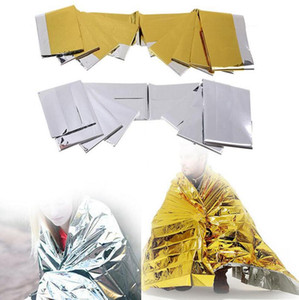 Camping Outdoor-Survival-Emergency Kit Rettungsdecke Tragbare Erste-Hilfe-Vorhang Notfall Camping Decke 2000pcs OOA2168