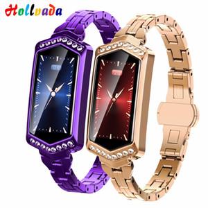 B78 smart watch женщины фитнес браслет сердечного ритма трекер монитор артериального давления кислорода smartwatch band лучший подарок для подруги