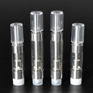 Dank Vape Ceramic Coil Cartridges Jupiter Liquid 6 Oil Cartridge Press G5 M6T TH105 TH205 510 Thick Oil Tank Atomizer Carts