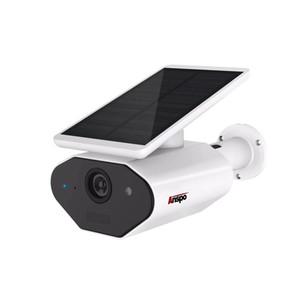 Открытый солнечной энергии камеры безопасности с низким энергопотреблением аккумуляторная батарея провода Бесплатная солнечная WiFi камера 960P IP66 водонепроницаемый ночного видения