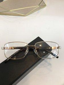 Novos óculos moldura clara moldura óculos de lente restaurar antigas formas Óculos de grau homens e mulheres miopia olho armações de óculos 687 com caixa