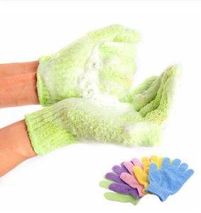 Moisturizing Spa Skin Glove Shower Scrub Gloves Body Massage Sponge Wash Skin Moisturizing Gloves 1pc price OOA7413-5