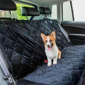 Perro de mascota coche portador del perro Ecológico para mascotas bolsa del amortiguador de asiento banco posterior Cubierta posterior impermeable Mat antideslizante coche plegable Mats