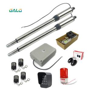 GALO balanço por folha de aço inoxidável Swing Gate Abridor kit com Fechadura Elétrica para Farm ou Home's Portões de Balanço 300 kg
