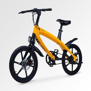 20inch electric bike S1 smart small electric bicycle 36V lithium pedal power cycling city battery scooter pas range 50km ebike