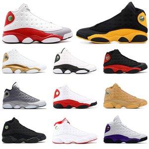 Обувь New Mens Basketball 13s Мел класс 2002 Бреда Атмосферы Серого Alternate Определения моментов Flint Olive Мужского спортивные кроссовки Размер 7-13