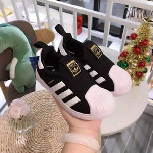 Les nouveaux garçons de tête de la coquille de la marque et les filles baskets chaussures mode chaussures de course de sport chaussures de sport pour enfants