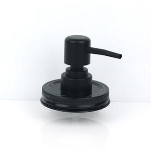 Lotion Shampoo Black Liquid Plastic Bottle Hand Lid Wholesale Mason Jar (not include) Soap Dispenser Pump