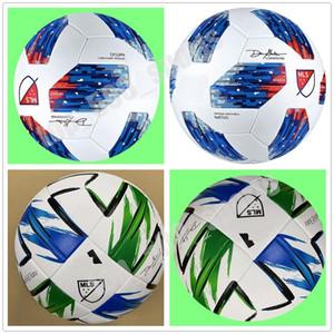 Liga de las Américas bola de alta calidad pelota de fútbol MLS tamaño de 2.020 EE.UU. final Kiev 5 de la PU bolas gránulos antideslizantes de fútbol libre del envío