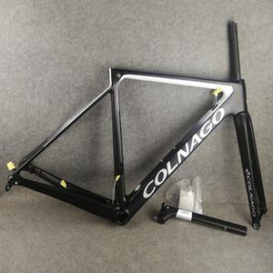 T1100 ud Colnago V3Rs disk karbon yol bisikleti çerçeveleri 2020 yeni bisiklet Disk Frameset ile 46/49/52/54 cm ücretsiz kargo