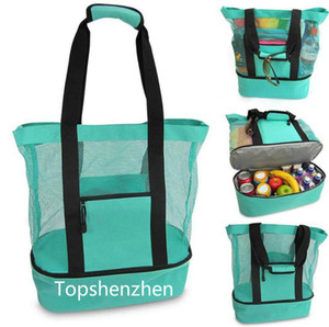 2020 new Outdoor Picnic Bag 4 Colors Beach Camping Multi-function Large Capacity Lunch Bags Portable Outdoor Travel Bag with fast shipment