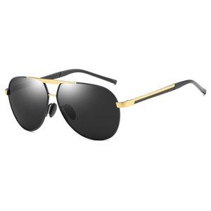 High-End Herren Sonnenbrillen Markendesigner Color Lens Herren Polarized Sonnenbrillen Herren Safety Driving Sonnenbrillen mit Originalbox und Tasche