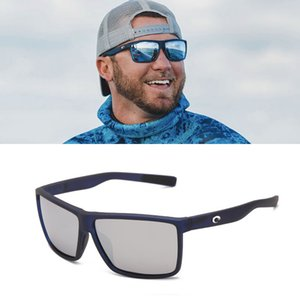 Costa óculos de sol dos homens de moda óculos de sol 580P Polarizado Proteção UV designer de mulheres de luxo óculos de lente Costa Reefton TR90 quadro TAC