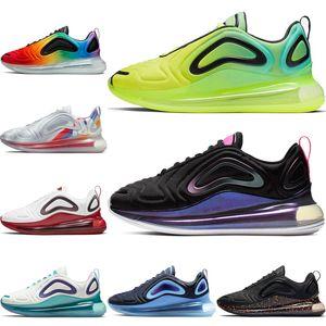 nike air max 720 Volt Zapatos para correr para hombres Mujeres Paquete de Pascua Be Ture Lava caliente Obsidiana Zapatos deportivos Mujeres Spirit Teal Pride Zapatillas de deporte