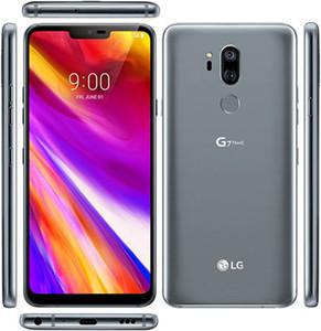 """تجديد مفتوح LG G7 شيء becouse لاني G710EM G710N 64G 4G LTE أنف العجل 845 الروبوت الثماني الأساسية كاميرا خلفية مزدوجة 16MP 2160P 6.1 """"موبايل"""