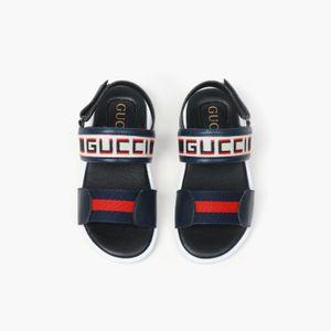 moda yeni gündelik Yaz Çocuk Sandalet Erkekler ve kızlar Mavi ve siyah Trend sandalet 030901