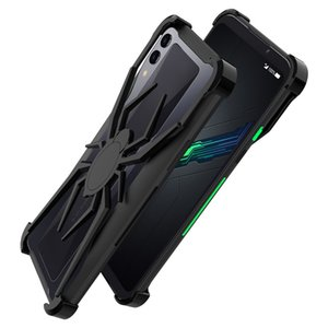 R-just Spide Case for Black Shark 2 Metal Anti-Fall Protection Shockproof Absorption Thinner Bumper for black shark 2