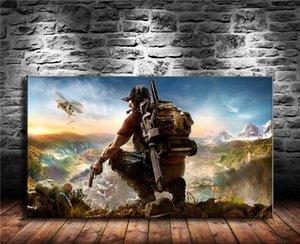 2017 Oyunları Tom Clancy S Ghost Recon Wildlands, ev Dekor HD Baskılı Modern Sanat Boyama Tuval üzerine / Çerçevesiz / Çerçeveli