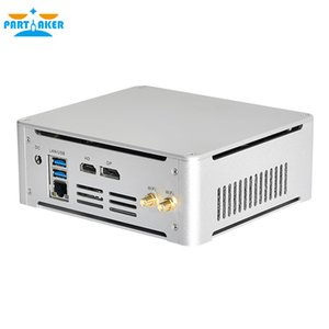 2020 Дешевые Gaming Mini PC Computer System Unit Intel i7-7820HK 2 * DDR4 M.2 NVME офиса PC HTPC 4K HDMI DP Type-C WIFI