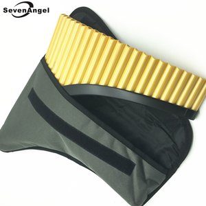 Panflute 22 borular torba ile plastik malzeme Romanya G Anahtar Panpipes Flauta Müzik Aletleri% 100 Yeni Pan Xiao flüt ABS
