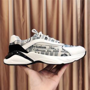 2020 Erkek ayakkabı Haberler Moda Sneakers Erkekler Dantel-up Spor Ayakkabıları Man Marka Açık Eğitmenler Tenis Boş Günlük Ayakkabılar