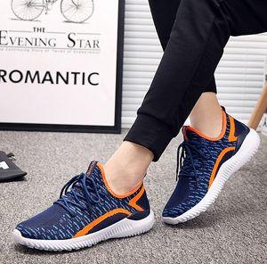 Nuovo arrivo Casual Shoes Moda Uomo 2020 estate in mesh traspirante Lace Up scarpe Mens Mesh Appartamenti Scarpe da tennis Scarpe da corsa