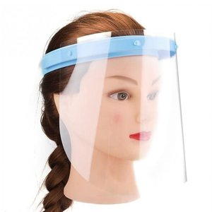 Face Mask Anti-fog Adjustable Face Shield 10 Plastic Protective Film