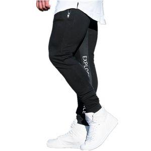 Мужское Joggers Повседневных Твердых штанов цветов Спортивных Горячие продажи Фитнес Тонкого Joggers Streetwear Sweatpants азиатского размер M-3XL