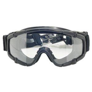 Tactical skiing goggle SI-Ballistic Goggle FOR Helmet black DE pink