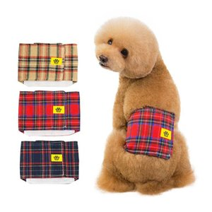 Pet Dog Pants Clothes Cotton Physiological Underwear Wrap Belly Band Nappy Pants Pets Tighten Sanitary Briefs Pants for Male Dog LXL1008