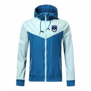 Jaquetas de Top Bordeaux Windbreaker Futebol Jacket 2020 de futebol de moda com capuz Casacos Sportswear casaco de Formação de Futebol Windbreaker Homens