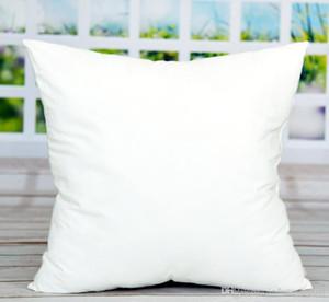 Kissen Sublimation Blank Platz Pillowcase DIY Blank Sofa-Kissen-Abdeckung für Kissen- Verteilergetriebe 45 * 45cm Wärme Weiß Werfen A Wtmfe