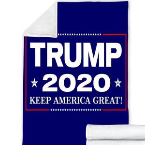 Trump 2020 Coperta 3D Stampa 150 * 130 centimetri addensare bambini Inverno Trump coperta, rendere l'America di nuovo grande Couch divani Coperte 40pcs T1I2027