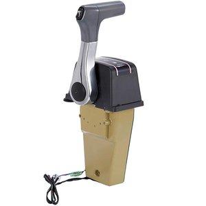 Outboard Engine Single Binnacle Remote Control Box Outboard Remote Control Kit 67200-93J13 for Suzuki Top Mount Power Trim Trail