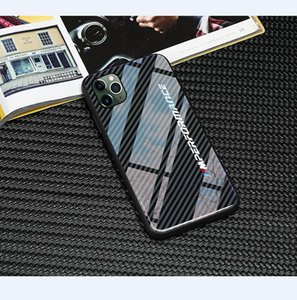 New luxury tpu glass M performance Phone Case for iphone 11 pro max X XR XS Max 7 6 6S 8 plus cases samsung s8 s9 s10 plus note 8 9 covers