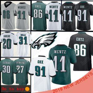 jerseys Philadelphia 11 Carson Wentz de Eagle Jersey 86 Zach Ertz 10 Jackson 91 Fletcher Cox Dawkins Foles Jenkins Jeffery Mills Goedert