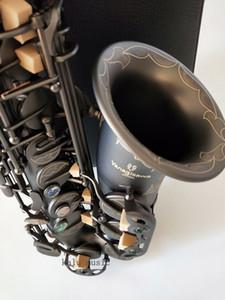 Высокое качество альт-саксофон Yanagisawa A-991 E-Flat черный саксофон альт мундштук лигатура тростниковый шея музыкальный инструмент бесплатная доставка
