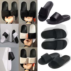 비치 신발 미끄러운 구두 플롭 남성 여성 슬리퍼 샌들 디자이너 신발 럭셔리 슬라이드 여름 패션 슬리퍼 35-46 꽃 플립