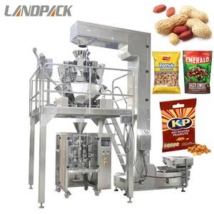 Otomatik Fıstık Şeker Poşet Yastık Çanta Kaju Fındık Paketleme Makinesi Dikey Form Mühür Doldurun