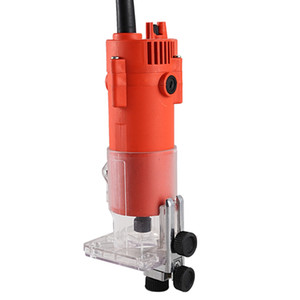 Freeshipping Router Trimmer 600w 30000rpm Durable Small Copper Motor Carving Machine 6mm Electric Woodworking Trimmer Power Tool