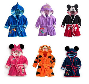 Baby PC 1 boy   girl strange soft velvet robe pajamas coral new kids clothes baby clothing