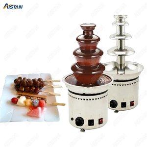 DH296 4/5/6/7 Layers Fountain Chocolate Electrical Chocolate Melt Fondue cachoeira Máquina de 220V / 110V