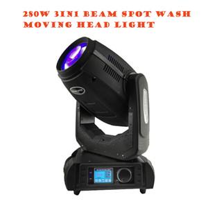 venda preço de fábrica quente ROBIN 280W BSW 10r lâmpada OSRAM Moving Head Spot Light para o disco eventos festa de casamento