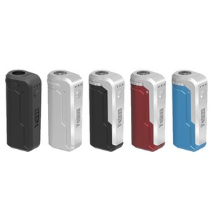 100% Original Yocan Uni Box Mod Preheat Battery Kit 5 Colors Suitable For all Size of Cartridge 510 Magnetic Ring Preheating Batteries Mods