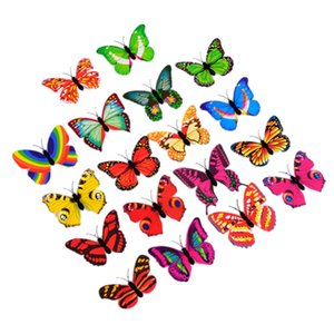 10 Pcs Wall Stickers Butterfly LED Lights Baby Kids Living Room Home Decor Glow In The Dark Sticker 3D House Decoration Other Home Decor