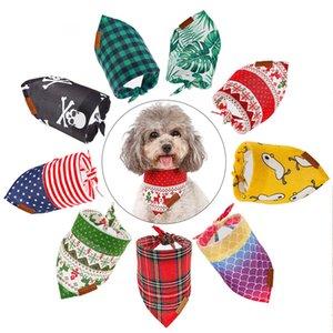 presentes Festival Bow Tie Dog Pet Collar transporte Chefe Dog Cachecóis Bandana Triângulo babadores Dog Kerchief gratuito