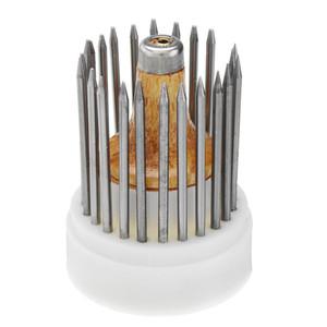 23pcs Diamant Einstellung Perlen Stein Perlen Micro Pave Tools Kit