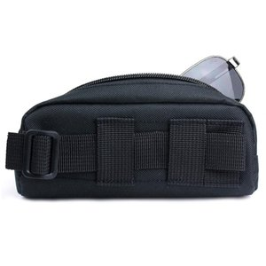 Kosibate Portable Tactical camelback Molle Sunglasses Case Carry Eyeglasses Bag Outdoor Sport tactical pouch for Glasses Pouch
